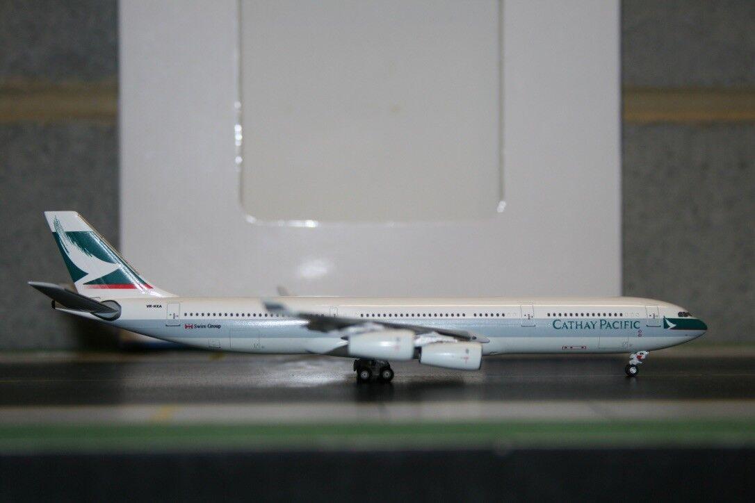 Aeroclassics 1 400 Cathay Pacific Airbus A340-300 VR-HXA (ACVRHXA) RARE