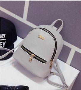 Fashion-Women-Girls-Mini-Backpack-Leather-Shoulder-School-Rucksack-Ladies-Travel