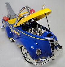 1940s Ford Vintage Truck Pedal Car Pickup Yellow Trim Midget Metal Show Model