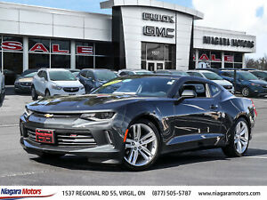 2016 Chevrolet Camaro 1LT Coupe - WOW Super LOW KMS!! - 20 ALLOYS - Power SUNROOF - Remote START - Rear CAMERA - and SO MUCH MORE!!