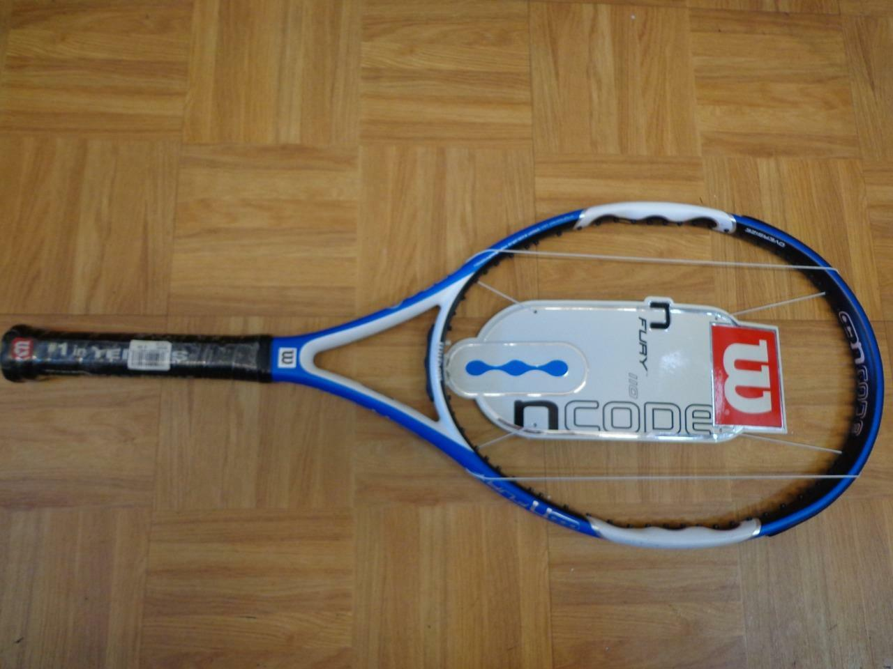 NEW Wilson Ncode N Fury 110 head 4 1/4 grip Tennis Racquet