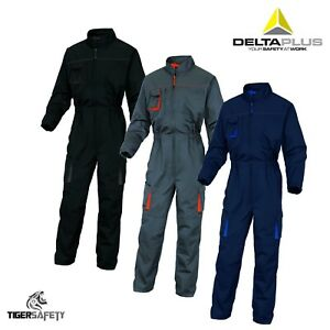 Delta-Plus-Panoply-M2COM-Mach2-Mens-Kneepad-Work-Overalls-Coveralls-Boilersuit