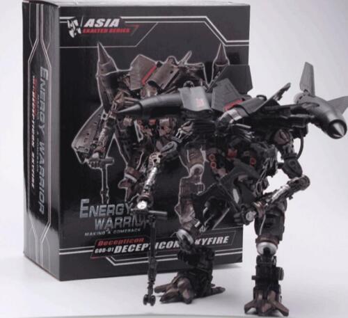 TF DreamWorks Transformers L Level GOD01 Metallic Color Skyfire Jetfire NEW