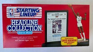 1992  Starting Lineup  David Robinson San Antonio Spurs Headline Collection NEW