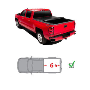 48affd62380 5 ft Roll Up Tonneau Cover Vinyl Fit 2005-2015 Toyota Tacoma ...