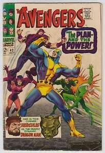 L6693-Avengers-42-Vol-1-VG-F-Estado
