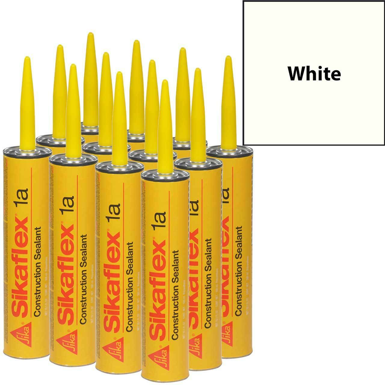 Sikaflex 15lm Low Modulus Polyurethane Sealant 10 1 FL Oz Cartridge White  Case of 24