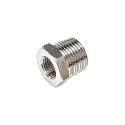 """Reducer 1//2/"""" Male To 1//4/"""" Female Step Down Air Coupling Adaptor Fits PCL Hose"""