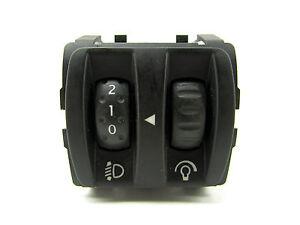 Renault Megane 3 III Bj.11 Schalter LWR Dimmer Leuchtweitenregler 251900001R D