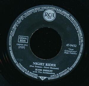 ELVIS-PRESLEY-45-TOURS-GERMANY-NIGHT-RIDER