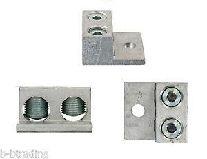 Lot-10-UL-Aluminum-CU9AL-Double-Barrel-Lugs-6-300MCM