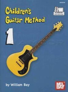 Children's Guitar Method 1 Apprendre à Jouer Débutant Kids Acoustic & Electric-afficher Le Titre D'origine