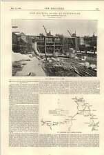 1896 New Graving Docks At Portsmouth J Price Lanarkshire Ayrshire Coalfield