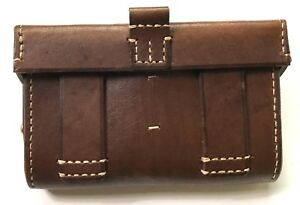 WWI RUSSIA RUSSIAN PATTERN 1893 NAGANT RIFLE AMMO CARRY BAG