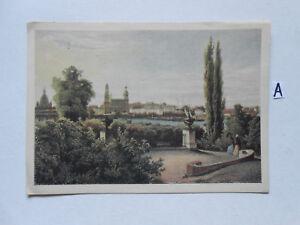 Carte Postale Vue Carte Saxe. Dresde De 1850-n Um 1850 Fr-fr Afficher Le Titre D'origine