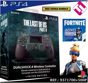 MANDO-PS4-DUALSHOCK-THE-LAST-OF-US-2-PLAYSTATION-4-SONY-500-PAVOS-FORNITE