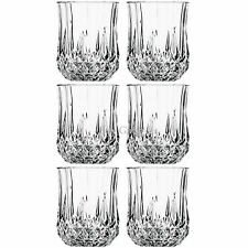 6PCS x 200ML DRINKING GLASSES SET WINE EVENING GLASSWARE JUICE DINING GIFT GLASS