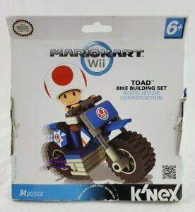 K'NEX - MARIOKART Wii - Toad Bike BUILDING SET' NEW UNOPENED PACKAGE!!!