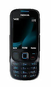 1 von 1 - Nokia  Classic 6303 - Mattschwarz (Ohne Simlock) Handy