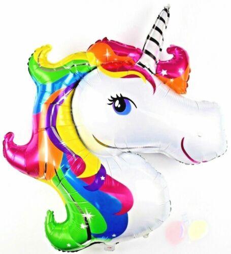 XXL Helium Einhorn Folienballon Kinder Geburtstag Party Pony Pferd balloon