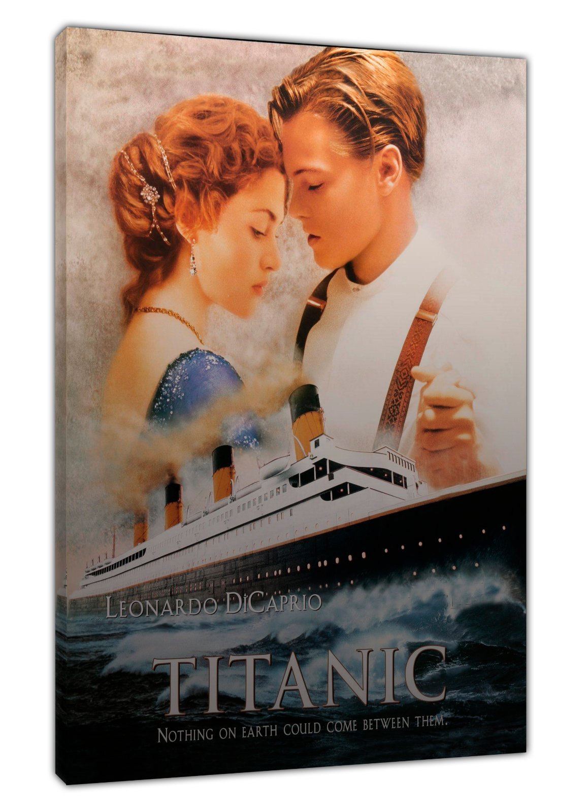 Película Película Película Titanic imagen fotográfica de Amor Impresión En Lona Parojo Arte Enmarcado Decoración Hogar 69a944