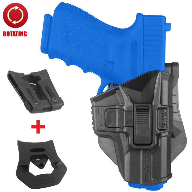 FAB Defense lvl 2 SCORPUS Swivel Holster Glock 9mm 17 18 19 22 23 31 32 34 G-9SR