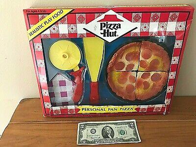 Pizza Hut Realistic Fake Pretend Play Food Deep Dish Pan Cutter New Ebay