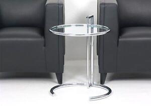 classicon-E1027-reglable-Table-Eileen-GRIS-Chrome-Verre-Transparent