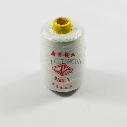 # 170761 NEW Heavy Duty White Sewing Thread For Portable Bag Closer 10 Cones