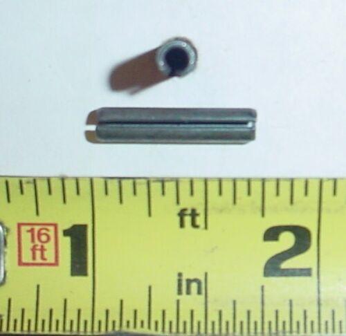"Black Oxide 25 ea 5//32/"" Dia x 3//4/"" Roll Pins Spring Pins"