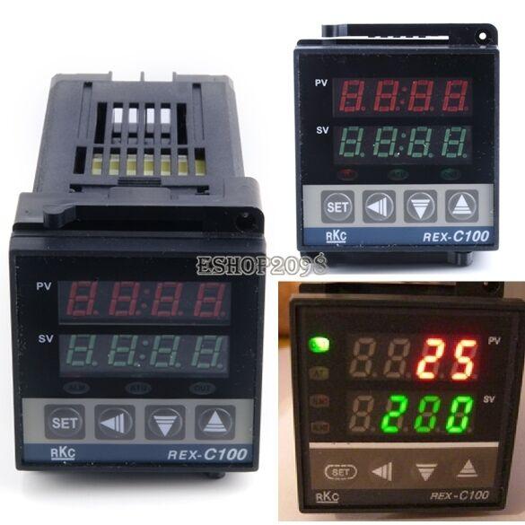 Universal 220V Digital LCD Temperature Controller Thermostat Incubation Control