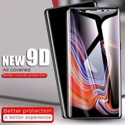 9D Screen Protector For Samsung Galaxy S8 S9 Plus Note 9 Tempered Glass