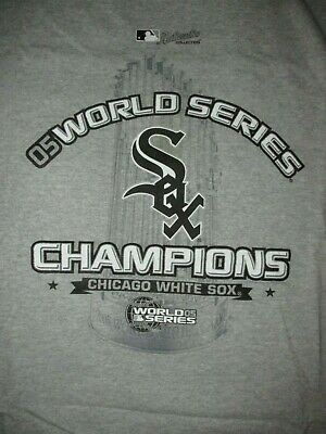 2005 World Series CHAMPIONS T-Shirt New CHICAGO WHITE SOX Baseball NWT  LARGE