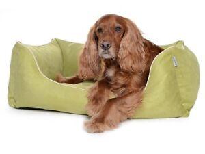 Lit de chien Orthopédique Visco Suede Imitation Worldcollection Canapé Kiwi