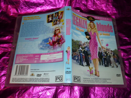 1 of 1 - LEGALLY BLONDE (SPECIAL EDITION) : (DVD, PG)