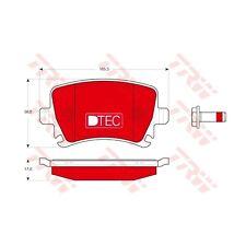 TRW Bremsbelagsatz, Scheibenbremse DTEC COTEC  GDB1622DTE  Hinterachse VAG