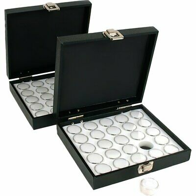 New 2-25 White Foam Gem Jars Gemstone Storage Display Tray Insert