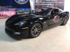 1/24 Franklin Mint Black 2009 Corvette Z06 ZO6 Competition Sport B11G304 # 307