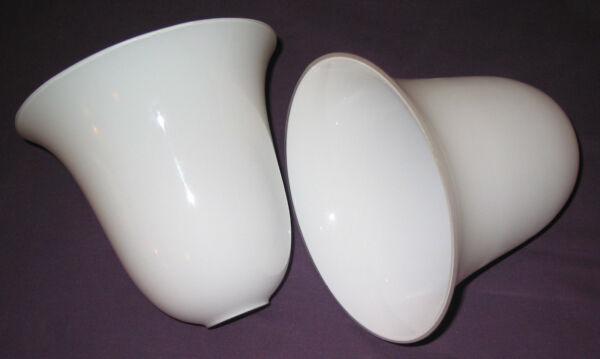 1 Une Tulipe Art Déco 20x20 Cm Vintage Style Lampe Mazda Cloche Réflecteur Opali Haute Qualité Et Bas Frais GéNéRaux