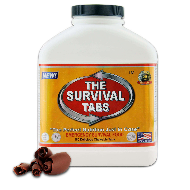 NEW Food Storage 1 Bottle Hiking Camping Prepared Survival Meal SOS 15 Servings