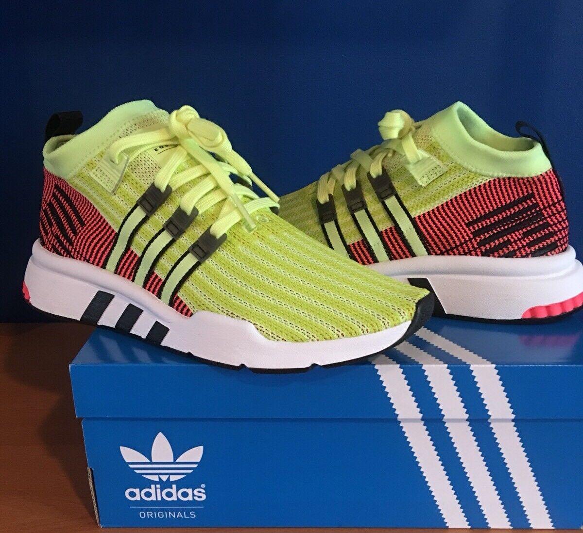 Adidas Men's Originals EQT Support Mid ADV Primeknit shoes US10 MSRP  120