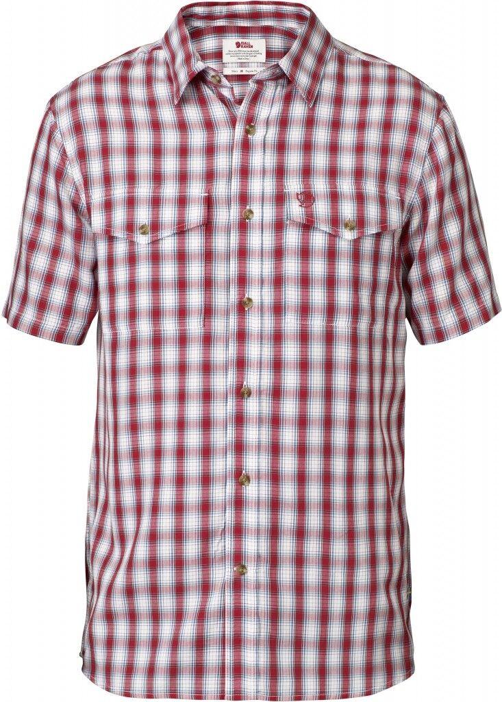 Fjaell Raeven Abisko Cool Shirt  Herren Hems 81795 320 rot