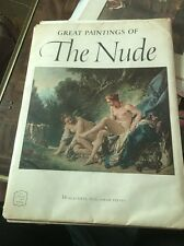 ABRAMS ART BOOK Great Paintings of the Nude Frameable Plates