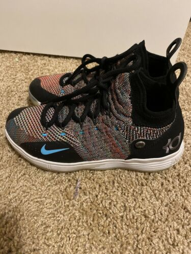 Men's Nike Rainbow KDXI Shoes - 5.5Y GENTLY USED