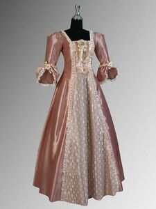 Image Is Loading Renaissance Dress Victorian Era Style Gown Charlotte Handmade