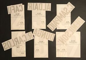SET-NOME-NUMERO-UFFICIALE-BRASILE-AWAY-FIFA-WORLD-CUP-1998-OFFICIAL-NAMESET-PL