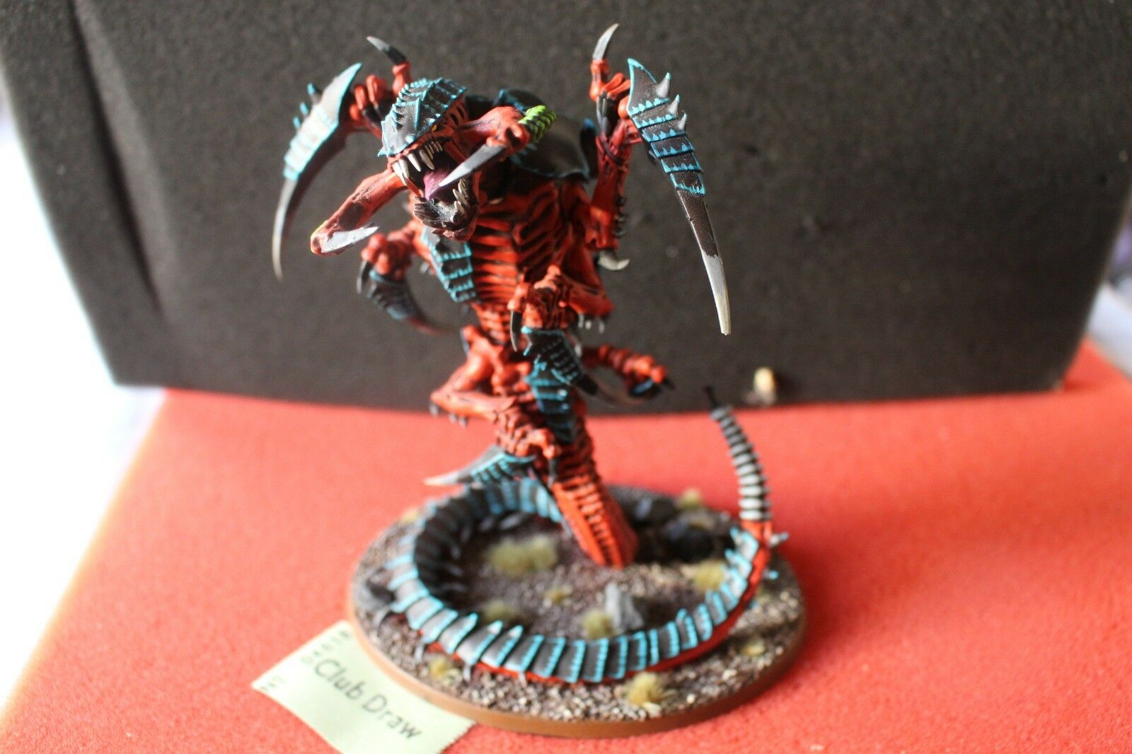 Games Workshop Warhammer 40k Tyranids Mawloc Alpha Painted WH40K Army Tyranid