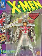 Vintage 1994 Marvel Comics~ SILVER SAMURAI ~ Uncanny X-Men Figure ToyBiz  MOC