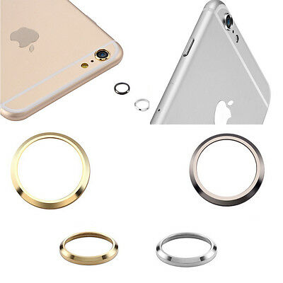 Electroplate Metal Camera skirts Black/Silver Ring For Iphone6/Plus Camera Lens