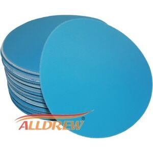 125mm-Wet-or-Dry-Sanding-Discs-5in-Sandpaper-Hook-amp-Loop-No-Hole-40-3000-GRIT